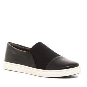 Via Spiga Ranie Slip On Black Sneakers Size 10